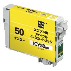 エレコム ECI-E50Y [エコリカ リサイクルインク/エプソン/ICY50対応]