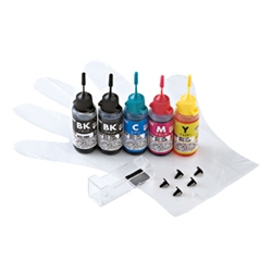 サンワサプライ INK-C79S30S5 [詰め替えインク]