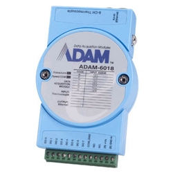 アドバンテック ADAM-6000 ADAM-6018-BE [イーサネットリモートI/Oモジュール8-Ch熱電対入力モジュール]