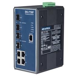 アドバンテック 産業用コミュニケーションEKI EKI-7758F-AE [8ポート管理型 冗長ギガビットイーサネットスイッチ]