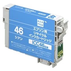エレコム ECI-E46C [エコリカ リサイクルインク/エプソン/ICC46対応]