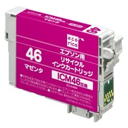 エレコム ECI-E46M [エコリカ リサイクルインク/エプソン/ICM46対応]