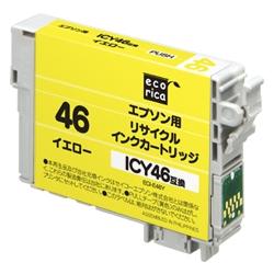 エレコム ECI-E46Y [エコリカ リサイクルインク/エプソン/ICY46対応]