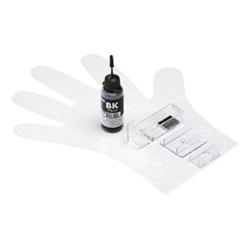 サンワサプライ INK-C6B30S [詰め替えインク BCI-6BK用 (ブラック・30ml)]