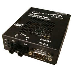 トランジションネットワークス J/RS232-CF-01 [DB-9(メス)/光ファイバ/ST/MMF/1300nm/2km]