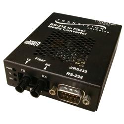 トランジションネットワークス J/RS232-TF-01 [DB-9(オス)/光ファイバ/ST/MMF/1300nm/2km]