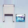 ラインアイ MC-2GCF [2GB CFカード(PCアダプタ付)]
