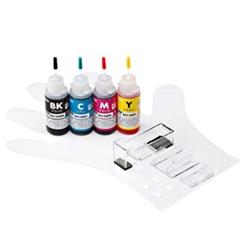 サンワサプライ INK-C326S30S4 [詰替インク(4色・30ml) BCI-326BK・C・M・Y用]