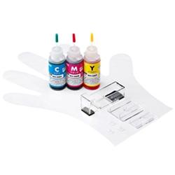 サンワサプライ INK-C326S30S [詰替インク(3色・30ml) BCI-326C・M・Y用]