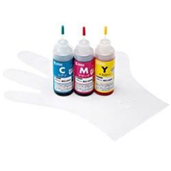 サンワサプライ INK-C326S60 [詰替インク(3色・60ml) BCI-326C・M・Y用]