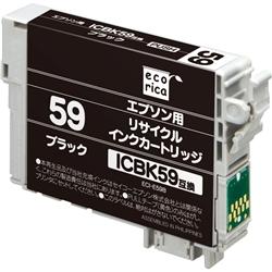 エレコム ECI-E59B [エコリカ リサイクルインク/エプソン/ICBK59/ブラック(顔料)]
