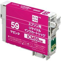 エレコム ECI-E59M [エコリカ リサイクルインク/エプソン ICM59/マゼンタ(顔料)]