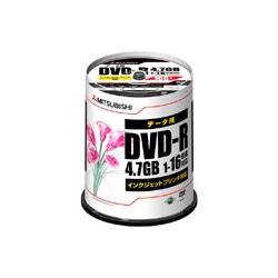 DHR47JPP100 [DVD-R 4.7GB PCデータ用 16倍速対応 100枚スピンドルケース入り ワイド印刷可能]
