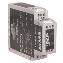 ブラックボックス・ネットワークサービス DINレールRS232<>カレントループ・コンバータ