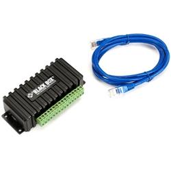 ブラックボックス・ネットワークサービス デジタルI/Oセンサ (1.5mケーブル付) ドライ接点(8)