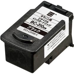 エレコム ECI-C310B-V [エコリカ リサイクルインク/キヤノン BC-310対応/ブラック]