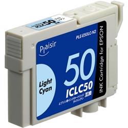 エレコム PLE-E50LC-N2 [プレジール 汎用インク/EPSON ICLC50/ライトシアン]