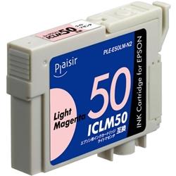 エレコム PLE-E50LM-N2 [プレジール 汎用インク/EPSON ICLM50/ライトマゼンタ]