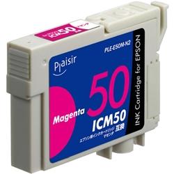 エレコム PLE-E50M-N2 [プレジール 汎用インク/EPSON ICM50/マゼンタ]