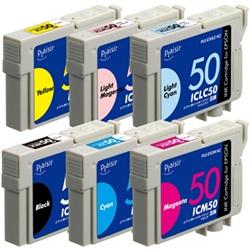 エレコム PLE-E506P-N2 [プレジール 汎用インク/EPSON IC6CL50/6色パック]