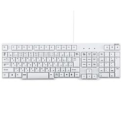サンワサプライ SKB-L1U [USBキーボード(ホワイト)]