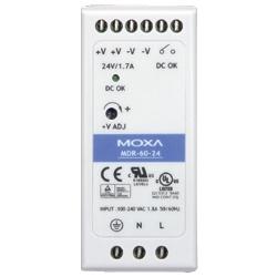 MOXA MDR-60-24 [60W DINレール24VDC電源]