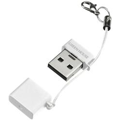 グリーンハウス GH-CRMR-MMW [USB2.0カードリーダ/ライタ(microSD) ホワイト]