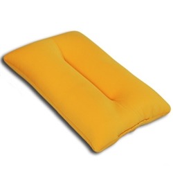 PFB-3550-OR [ふんわり極小ビーズ枕 オレンジ]