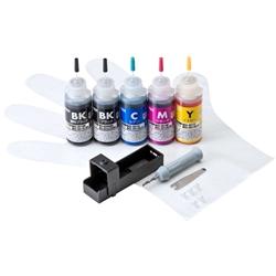 サンワサプライ INK-C350S30S5 [詰め替えインク BCI-350PGBK・351BK・C・M・Y用]