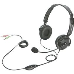 バッファローコクヨサプライ BSHSH12BK [両耳ヘッドバンド式ヘッドセット 半密閉/マイク ブラック]