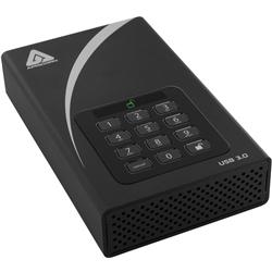 Apricorn KW8519 [外付HDD Aegis Padlock DT 256bit AES 2TB]