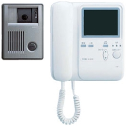 アイホン KBS-3ARD-T [受話器式カラーテレビドアホンセット(玄関3台増設可)]