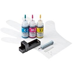 サンワサプライ INK-C351S30S [詰め替えインク(3色・各30ml)]