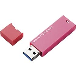 エレコム MF-MSU3A04GPN [セキュリティ対応 シンプルUSB3.0メモリ/4GB/ピンク]