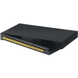 ブラックボックス・ネットワークサービス JPM370A-R2 [ラックマウント・パッチ・パネル(1U) 24ポート ST(12組)]