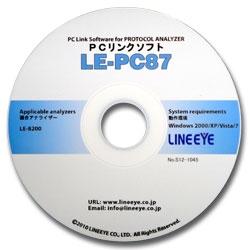 ラインアイ LE-PC87 [CAN/LIN用PCリンクソフト]