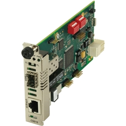 トランジションネットワークス C6010-1013 [光ファイバ マルチモード 850nm SC 2km RJ48]