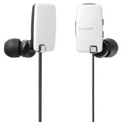 エレコム LBT-HP05NAVWH [Bluetoothステレオイヤホン/AV用/NFC/ホワイト]