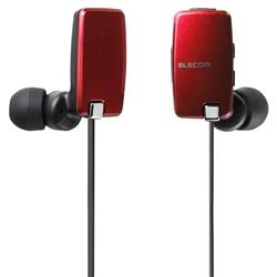 LBT-HP05NAVRD [Bluetoothステレオイヤホン/AV用/NFC/レッド]