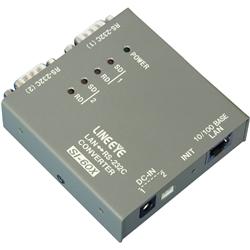 ラインアイ SI-60X-NS [インターフェースコンバータ LAN<=>RS-232Cx2 単体]