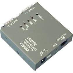 ラインアイ SI-60X [インターフェースコンバータ LAN<=>RS-232C x2ポート]