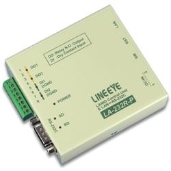ラインアイ LA-232R-P [LAN接続型デジタルIOユニット+LAN<=>RS-232C変換]