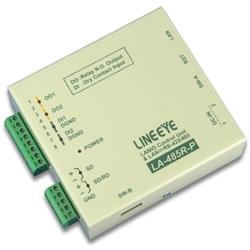 ラインアイ LA-485R-P [LAN接続型デジタルIOユニット+LAN<=>RS-422/485変換]