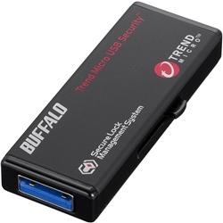 バッファロー RUF3-HS8GTV [USB3.0 セキュリティーUSBメモリー ウイルスチェック 8GB]